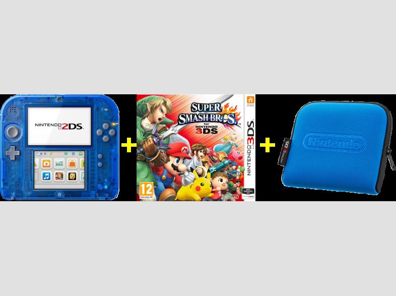 Saturn Nintendo 2DS + Tasche + Spiel Tagesdeal